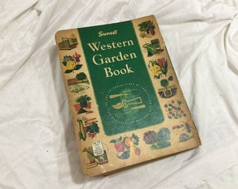 1954 Sunset Western Garden Book by Sunset Magazine