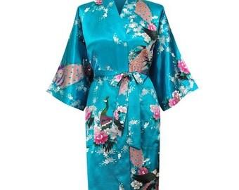 Bridesmaid Robes, Satin Bridesmaid robes, Bridesmaid gifts, Bridesmaid kimono robes.