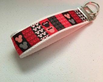 Mickey and Minnie Keychain FOB