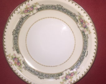 """REDUCED! Meito """"Dexter"""" Ivory China Empire Shape 10"""" dinner plate china"""