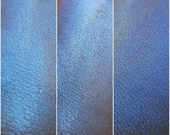 Duochrome Mineral Eyeshadow and Face Highlight- UNICORN - Iridescent Magic Blue highlighter dupe high quality shimmer sparkles vegan
