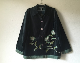 Vintage Blouse Jacket