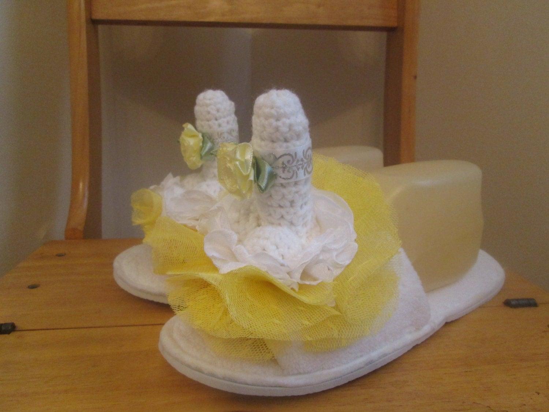 Wedding Gag Gift: SUMMER PENIS SLIPPER Bride Gag Gift Bridal Shower