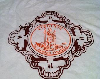 Virginia Tech Grateful Dead Tee Shirt