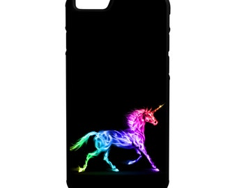 Colorful Unicorn iPhone Galaxy Note LG HTC Hybrid Rubber Protective Case