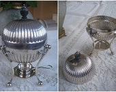 Mappin & Webb silver plated egg steamer, Prince's Plate