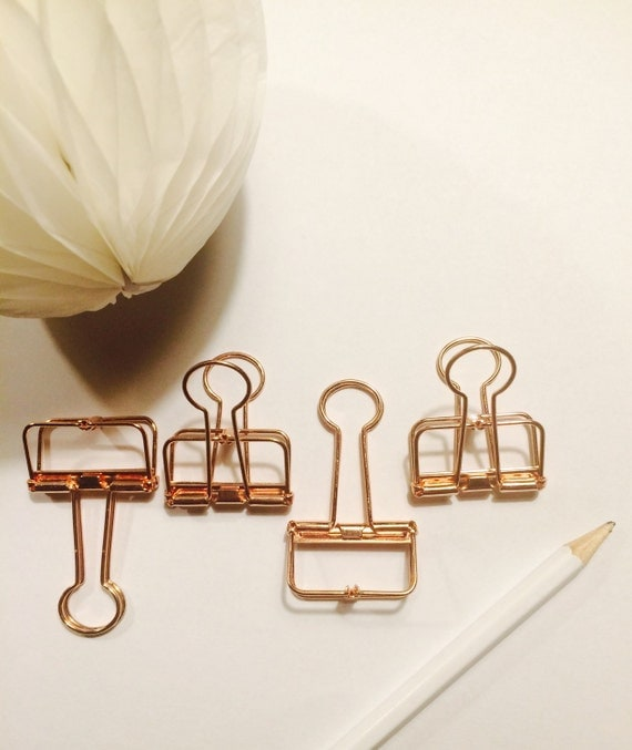 These 6 Pieces Of Colorful Furniture Are Absolute Must Haves: Binder Clips Rose Gold Copper Vintage Style Available In 2
