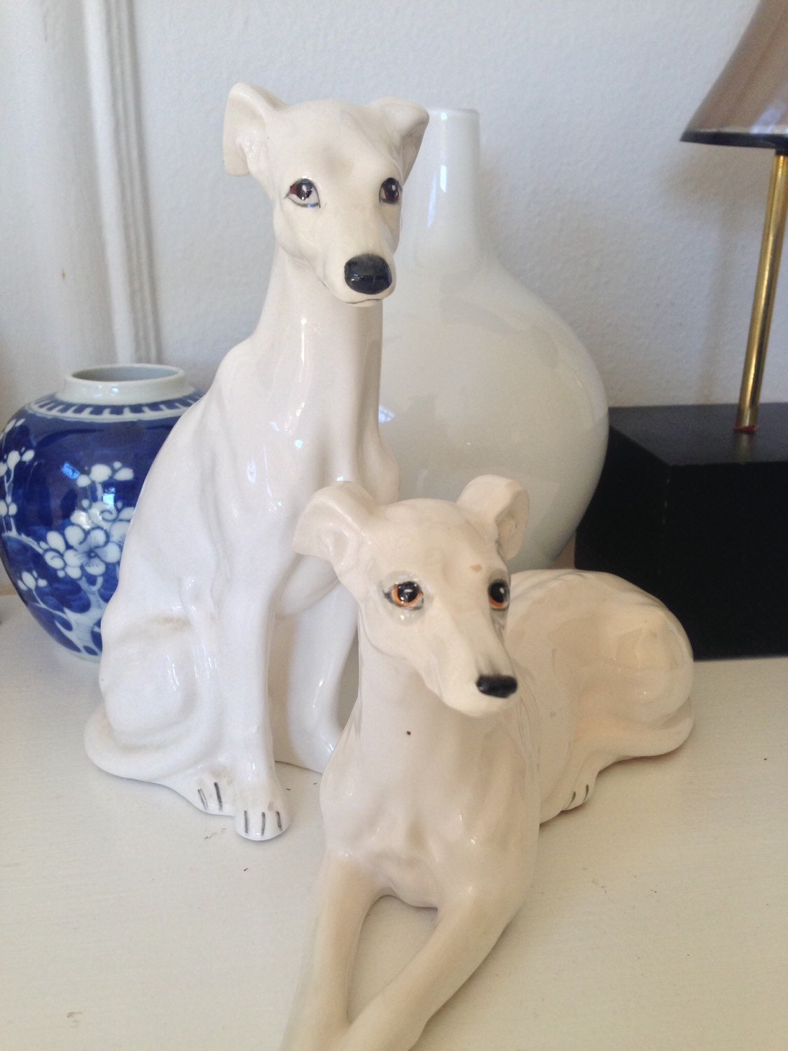 Pictures Of Italian Greyhounds Vintage Greyhound Figu...