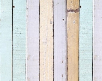 Pink Wood Vinyl backdrop ,Faded old wood planks Floordrops , Weathered Painted photography backdrops D9916