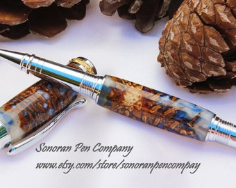 Triton Mermaid's Tail Double Pine Cone Rollerball pen