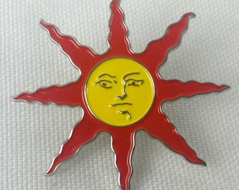Warrior of Sunlight Pin - PRAISE THE SUN - Dark Souls