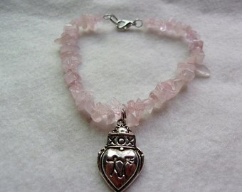 Rose Quartz Marriage Bracelet