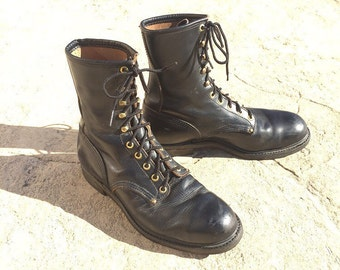 Hy Test Steel Toe boots 8 mens