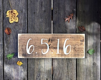 Engagement Sign | Established Date | Wedding Date | Engagement Pictures | Save The Date | Photography Prop | Wood Wedding Signs