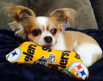 Steelers Dog Bone Dog Toy