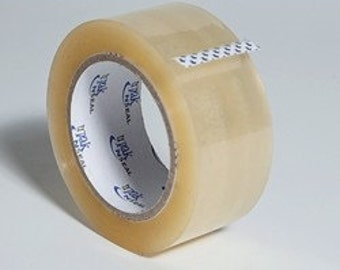 """2"""" x 110y Shipping Tape 2 Mil Clear Acrylic"""