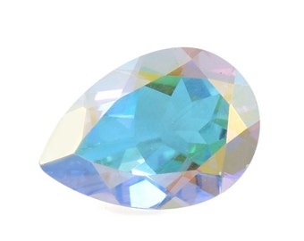 Mystic Mercury Topaz Pear Cut Loose Gemstone 1A Quality 10x7mm TGW 1.80 cts.