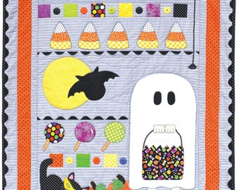 Trick Or Treat Quilt Kit including Pre-cuts by Stitches of Love Quilting