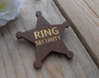 Ring Security Button - Wedding, Accessoire, Sticker
