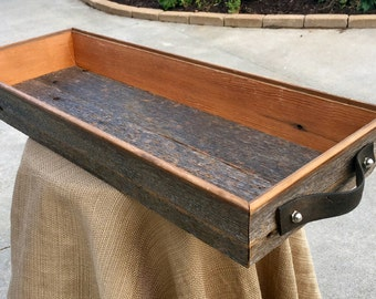 Decorative Barn Wood Serving Tray
