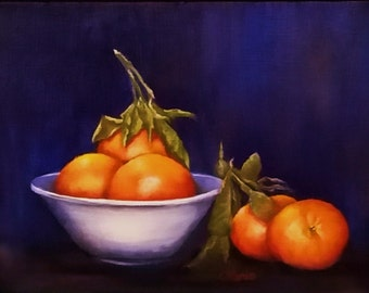 Clementines Still LIfe