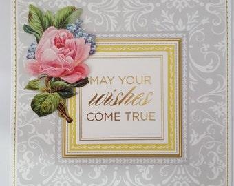 Happy birthday pop up greeting card