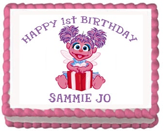 Abby Cadabby Cake Topper with FREE Personalization