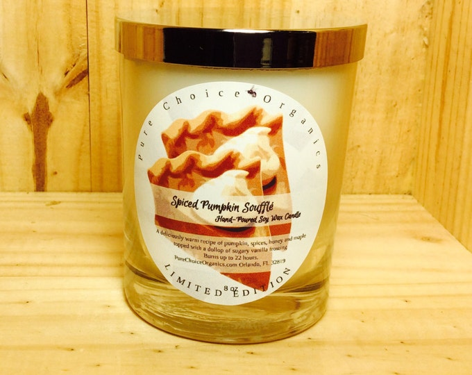 Featured listing image: Spiced Pumpkin Souffle Soy Wax Candles Holiday Gift BOGO Sale! Buy2 Get1