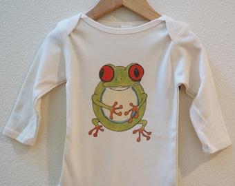 Tree Frog Organic Made in the U.S. Onesie