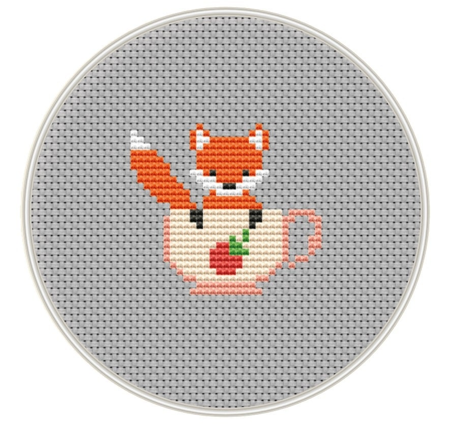 It is a picture of Shocking Free Printable Mini Cross Stitch Patterns