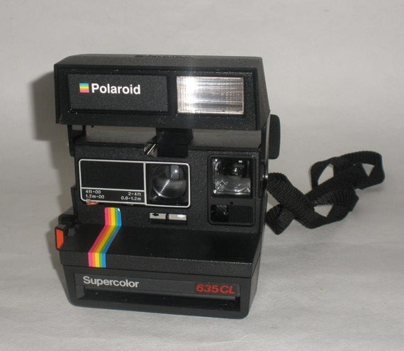 polaroid supercolor 635 cl film old polaroid camera. Black Bedroom Furniture Sets. Home Design Ideas