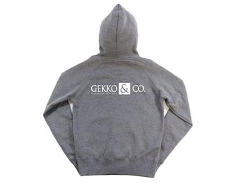Wall Street: Gekko & Co. Mens Zip-up Hoodie