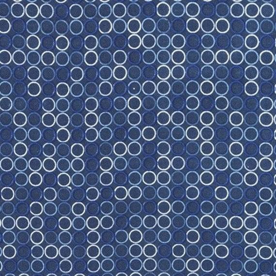 Spot On Navy by Robert Kaufman, Navy Polka Dots, Polka Dots Fabric, Robert Kaufman