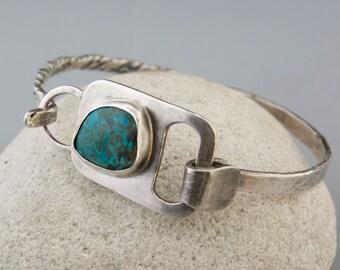 Chrysocoila Azurite Clip Bracelet