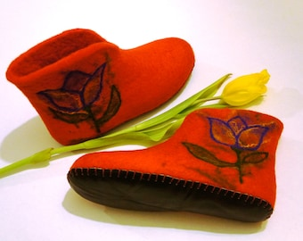 Felt shoes Wool shoes Felted shoes House shoes Felt boots felted boots Winter boots Felted slippers Felt slippers Wool slippers Valenki