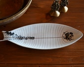 Vintage LaGardo Tackett and Kenji Fujita Fish Platter