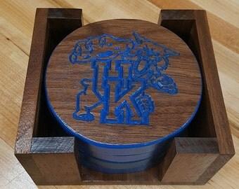 University of Kentucky Coaster Set