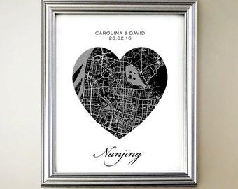 Nanjing Heart Map