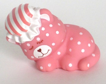 1980s Sweet Sleepers Pet Only Strawberry Shortcake - Custard Cat - No Doll - American Greetings - Excellent Condition
