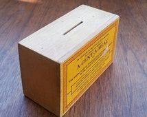Thankful Gratitude A Cent A Meal missionary tithing box