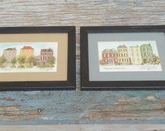 E. Charlsie Vorwerk Charleston SC Framed and Signed Prints!