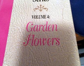 Folk Art One Stroke Video Library Series Volume 4: Garden Flower -  VHS Tape