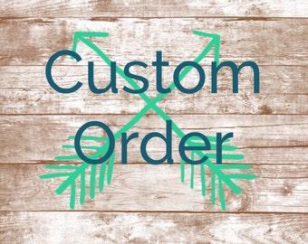 Custom signs for Ashlee