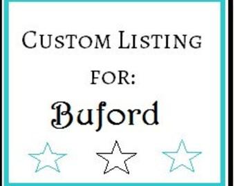 Custom Lisitng for Buford