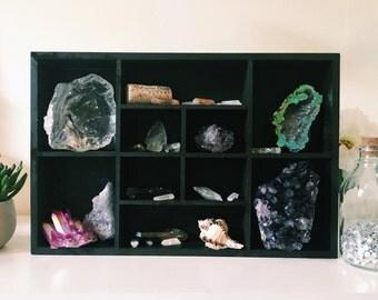 Crystal & Trinket Display Shelf