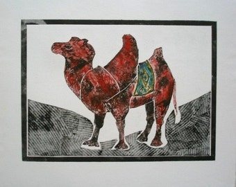 Gentle Camel (red)
