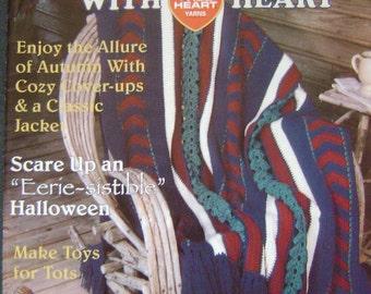 Crochet with Heart Instruction Magazine - October 2000