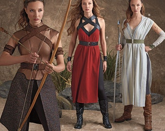Simplicity Pattern 8074 Misses' Costumes