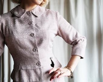 1950's blush of summer suit