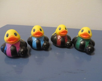 Gentlemen Bowling Leage rubber ducks.- Give them to the bowlers in your family